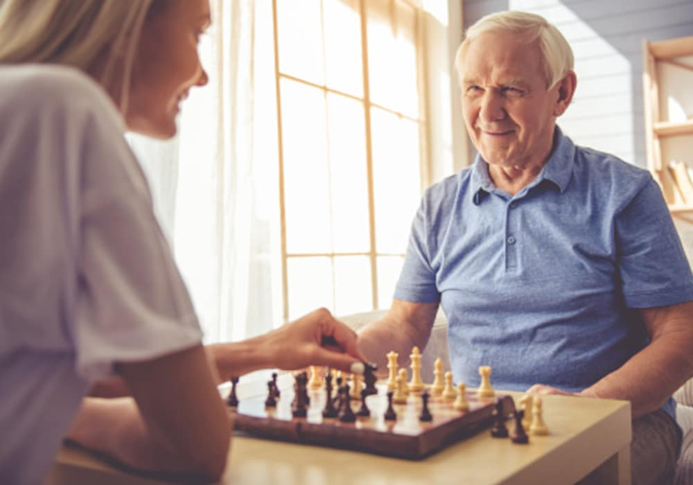 Elderly-Man-Playing-Chess